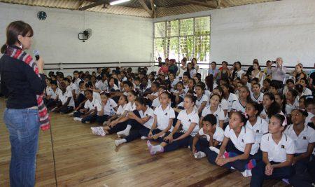 Escuela y Compañía celebraron juntos los 37 años de creación de Incolballet