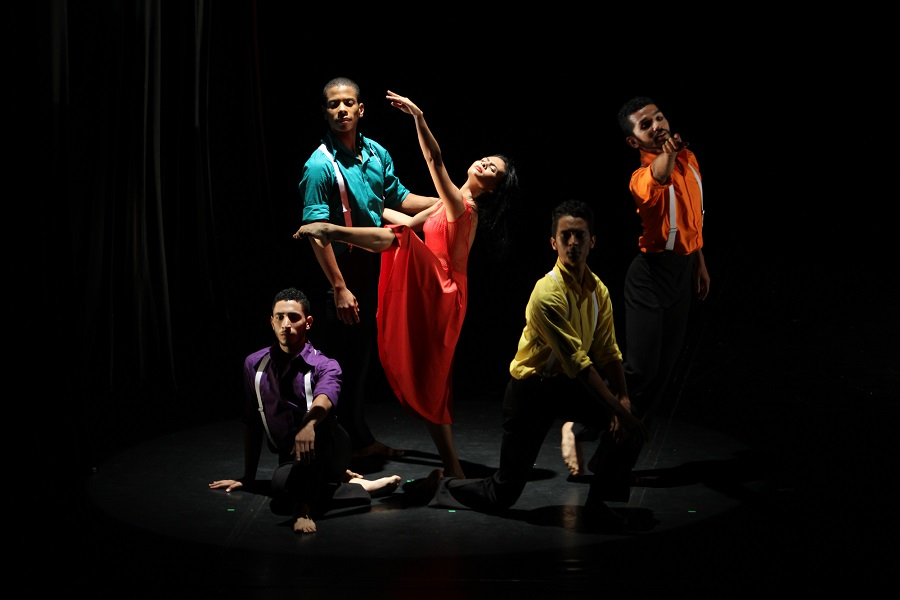 Grupo Juvenil Danza Nacional Contemporanea Incolballet. Fotos: Ricardo Trujillo